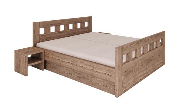 Manželské posteľe s úložným priestorom