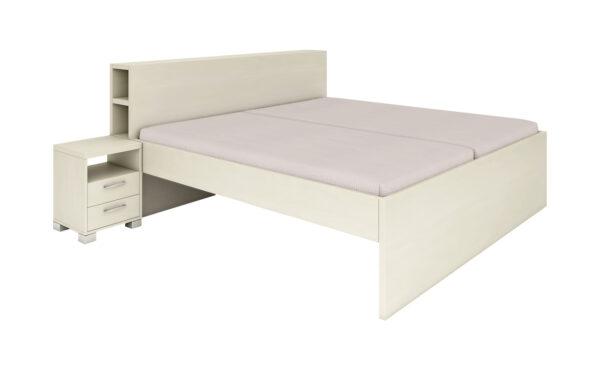 Manželské posteľe bez úložného priestoru